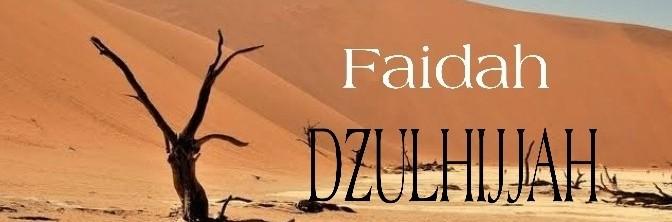 FAIDAH DZULHIJJAH [ Bag. 3/10 ]